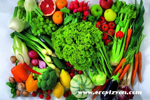tansiyonu düşüren sebzeler, sebzelerin tansiyona etkisi, sebzelerin tanasiyonu düşürmesi