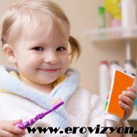 Diş fırçalama alışkanlığı, çocuklarda diş fırçalama, çocuklara diş fırçalama alışkanlığı kazandırma
