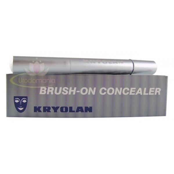 kryolan kapatıcı kullanımı, kryolan kapatıcı nasıl kullanılır, kryolan brush-on kapatıcı